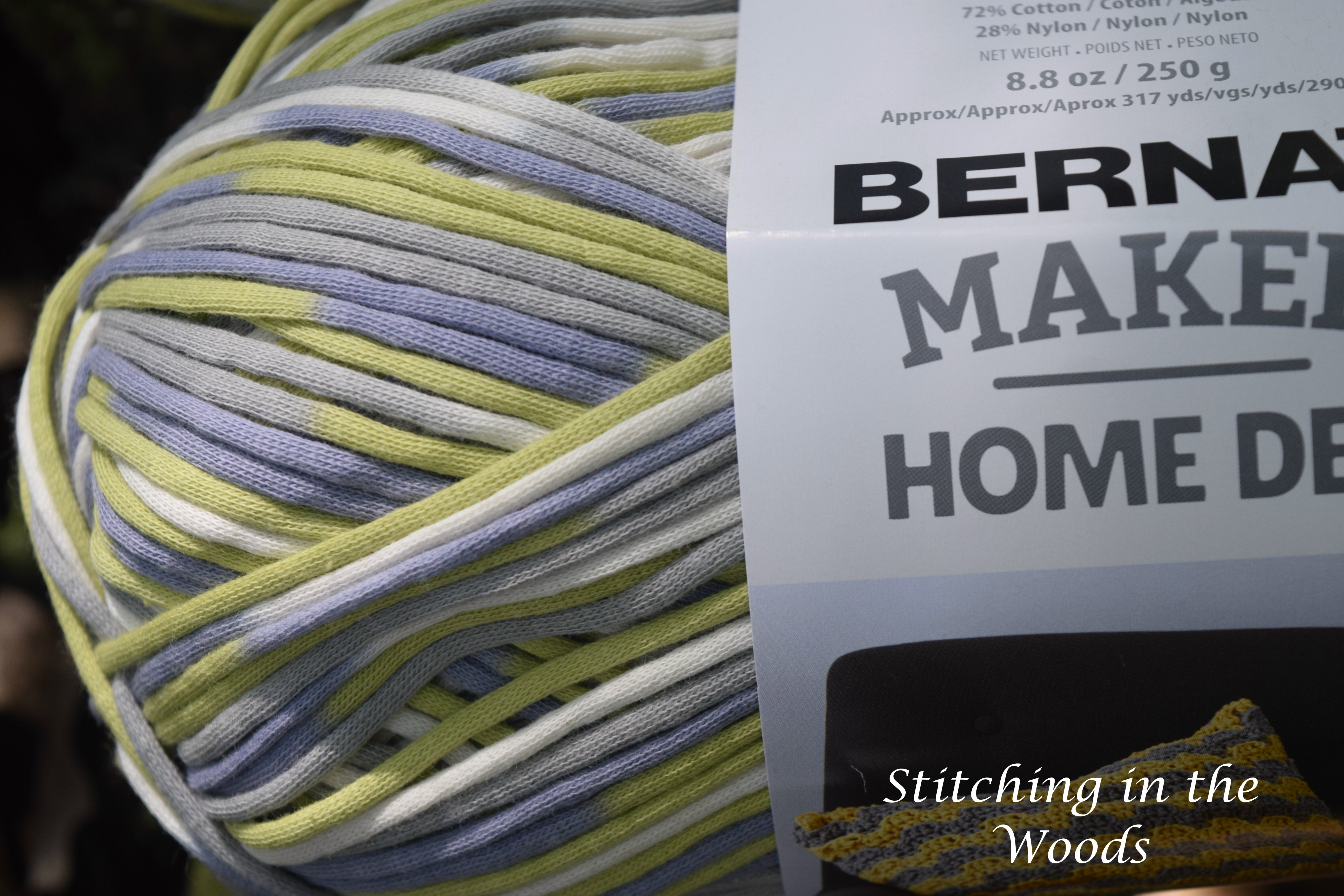 Yarn Review Bernat Maker Home Dec Stitching In The Woods
